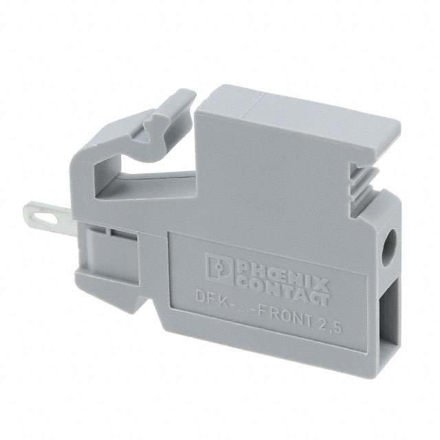 【0706508】TERM BLK SCREW CLAMP 1POS GRAY