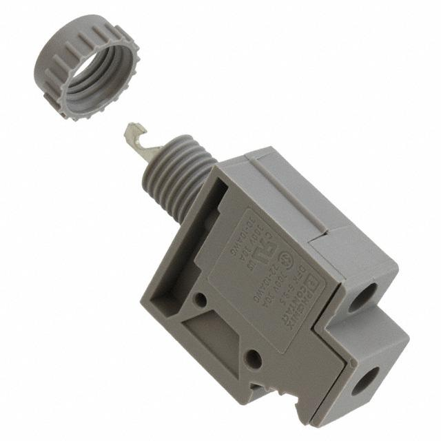 【0706605】TERM BLK SCREW CLAMP 1POS GRAY