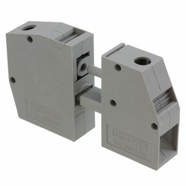 【0707743】TERM BLK SCREW CLAMP 1POS GRAY