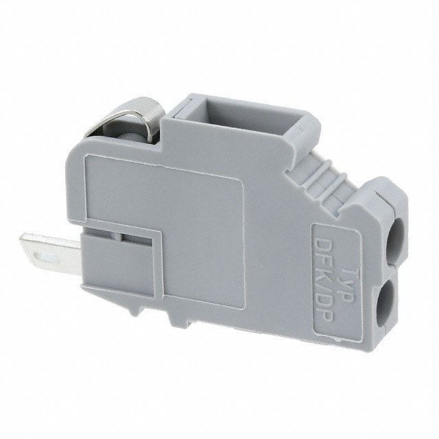 【0708030】TERM BLK SCREW CLAMP 1POS GRAY