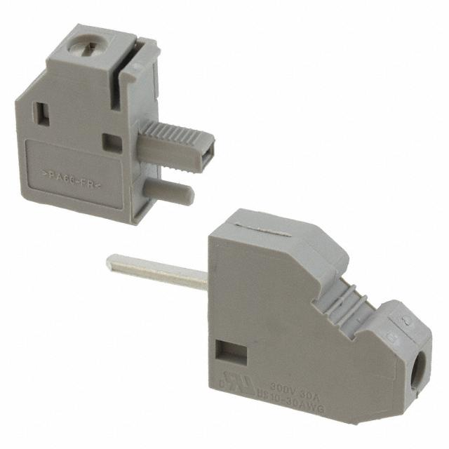 【0709026】TERM BLK SCREW CLAMP 1POS GRAY