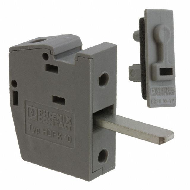 【0709110】TERM BLK SCREW CLAMP 1POS GRAY