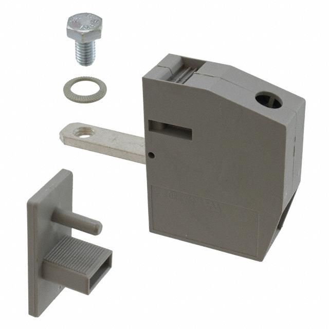 【0709136】TERM BLK SCREW CLAMP 1POS GRAY