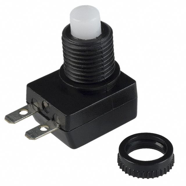 【40-3438-02】SWITCH PUSHBUTTON SPST 5A 14V