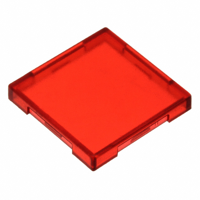 【5.49075.0151306】CONFIG SWITCH LENS RED SQUARE