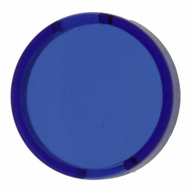 【5.49257.0111601】CONFIG SWITCH LENS BLUE ROUND