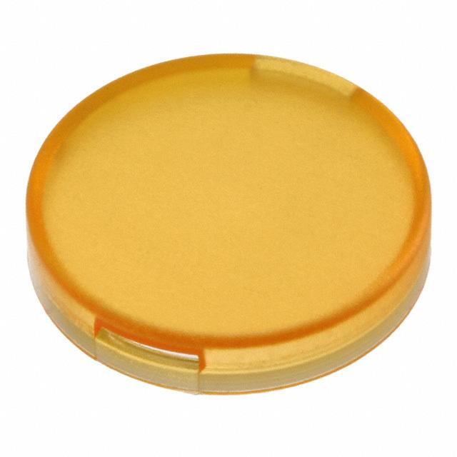 【5.49259.0131402】CONFIG SWITCH LENS YELLOW ROUND