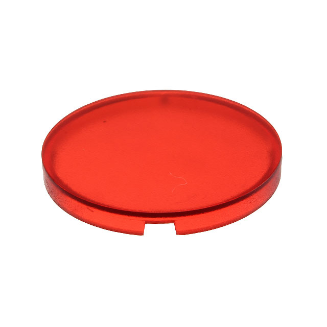 【5.49259.0171306】CONFIG SWITCH LENS RED ROUND