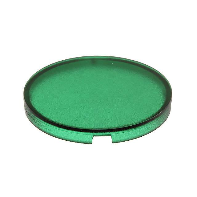 【5.49259.0171505】CONFIG SWITCH LENS GREEN ROUND
