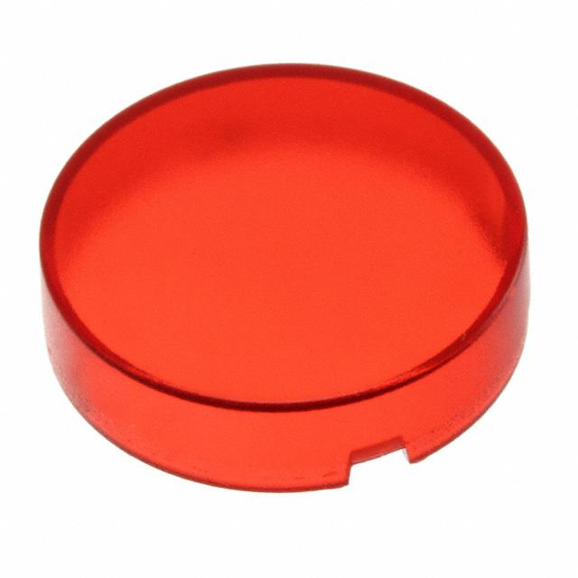 【5.49259.0181306】CONFIG SWITCH LENS RED ROUND