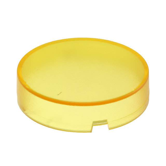 【5.49259.0181403】CONFIG SWITCH LENS YELLOW ROUND