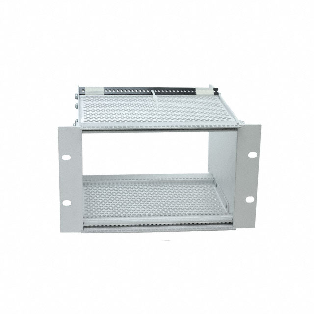 【CCA26-36-01】CARD RACK TOP/BOT VENT 3UX8.5X7