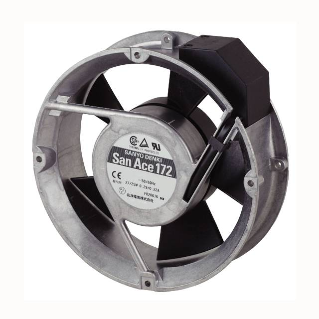 【109-311】FAN 172X51MM 100VAC RND