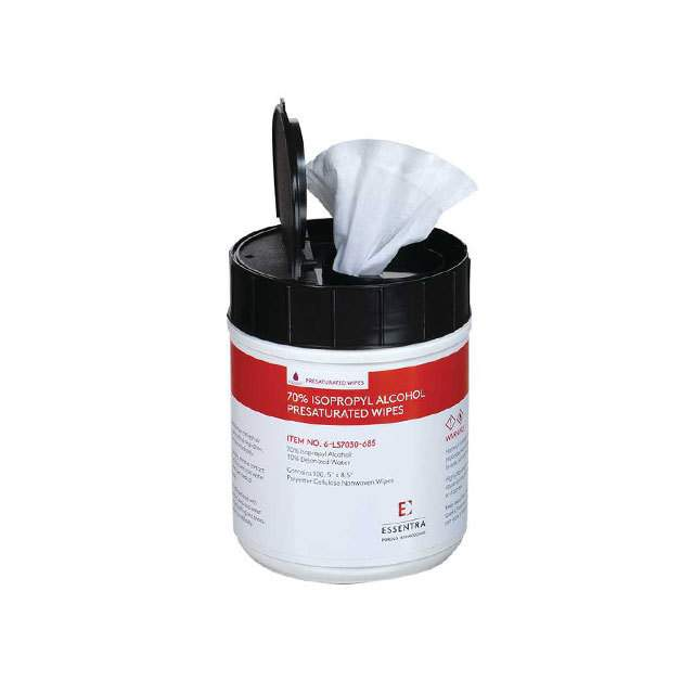 【6-LS7030-585】WIPES WET ELECTRONIC EQUIP 100PC