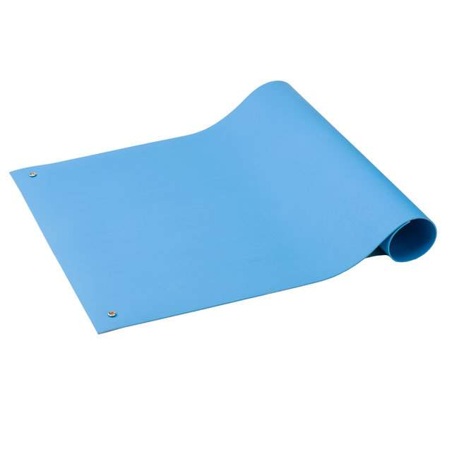 【6212436】TABLE RUN POLY LT BLUE 3'X2'