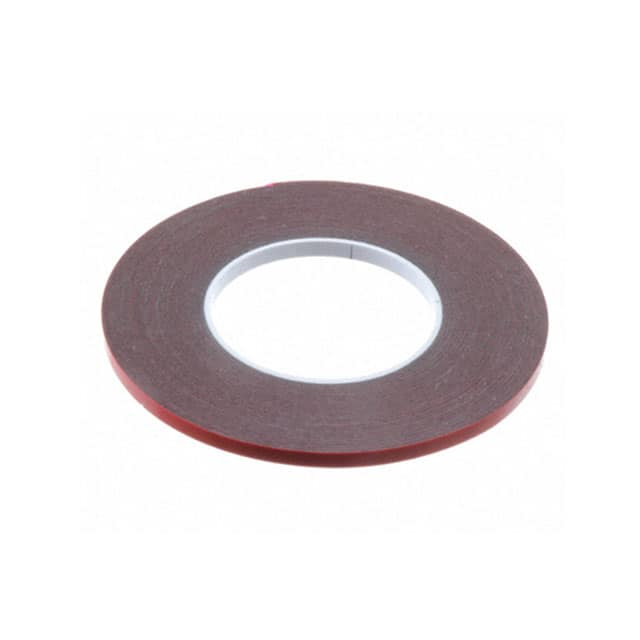 "【0.25-5-4646】TAPE DBL COATED GRAY 1/4""""X 5YDS"