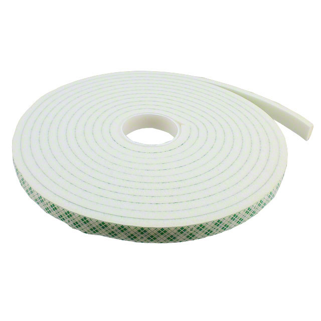 "【1/2-5-4004W】TAPE DBL COATED NAT 1/2""""X 5YDS"