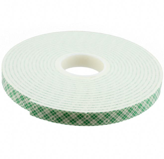 "【1/2-5-4008W】TAPE DBL COATED NAT 1/2""""X 5YDS"