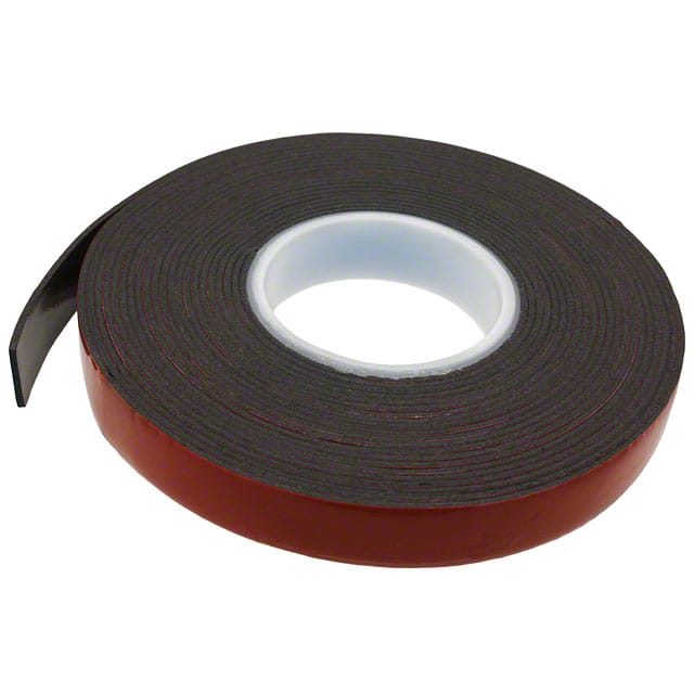 "【0.25-5-5952】TAPE DBL COATED BLACK 1/4""""X 5YDS"