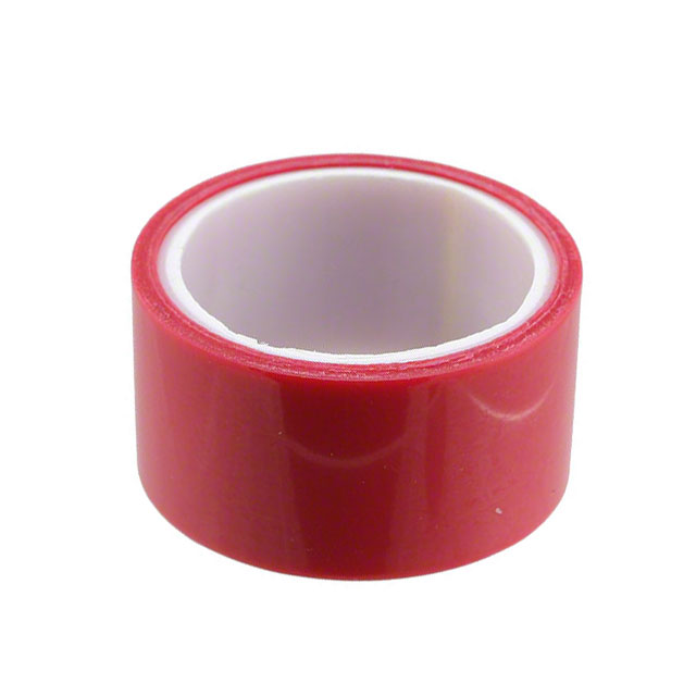"【1-5-1280】TAPE ELECTROPLATING RED 1""""X 5YDS"