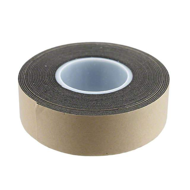 "【1-5-4492B】TAPE DBL COATED BLACK 1""""X 5YDS"