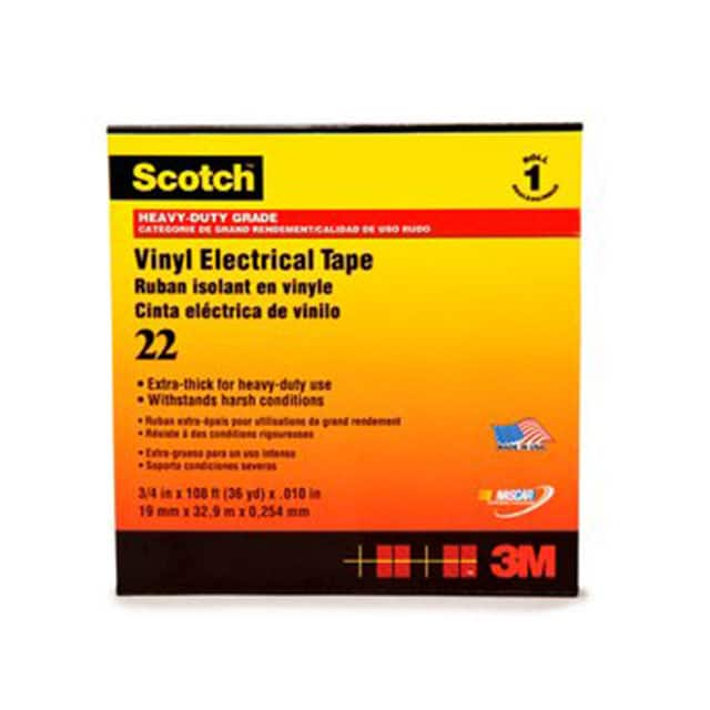 "【22-1-1/2X36YD】TAPE ELECTRICAL BLK 1 1/2""""X 36YD"