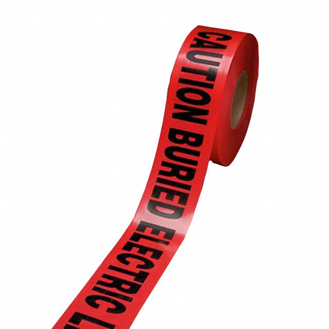 "【302】TAPE MARKING BLK/RED 3""""X 333YDS"
