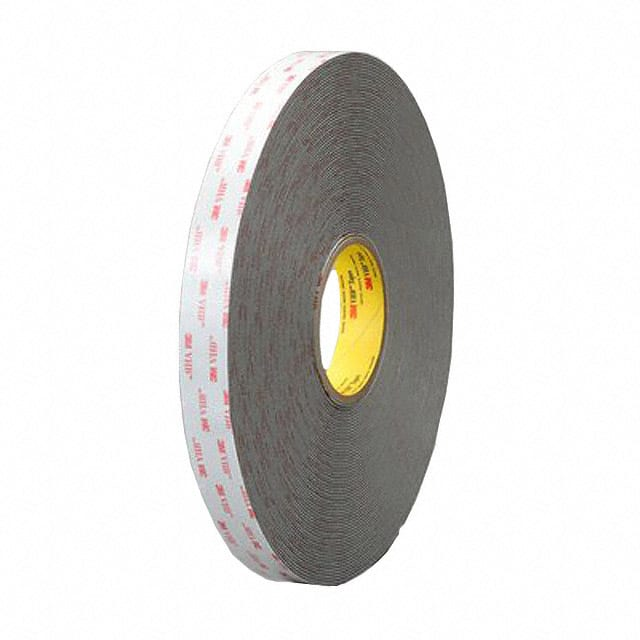 "【1-18-RP62】TAPE DBL COATED GRAY 1""""X 18YDS"