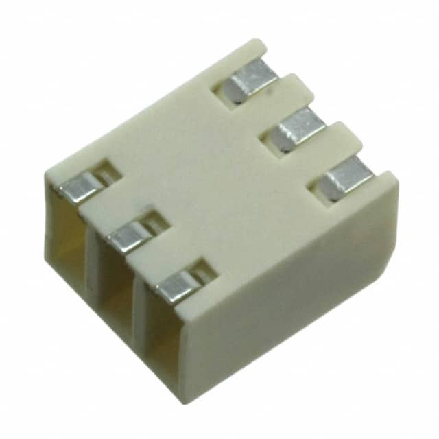 【009276003021106】TERM BLK 3POS SIDE ENT 2.5MM SMD
