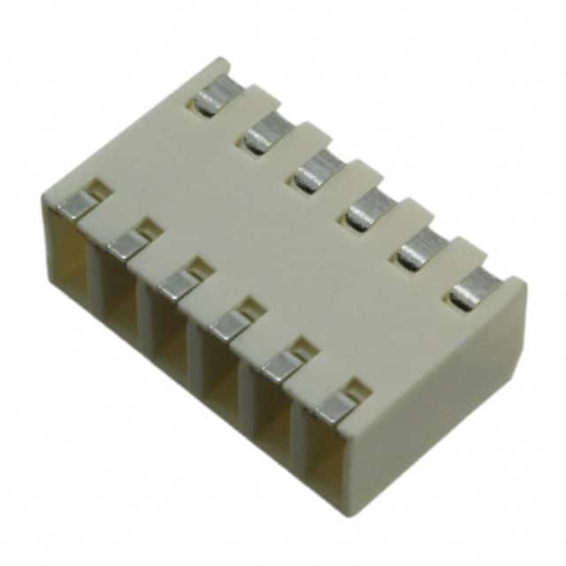 【009276006021106】TERM BLK 6POS SIDE ENT 2.5MM SMD