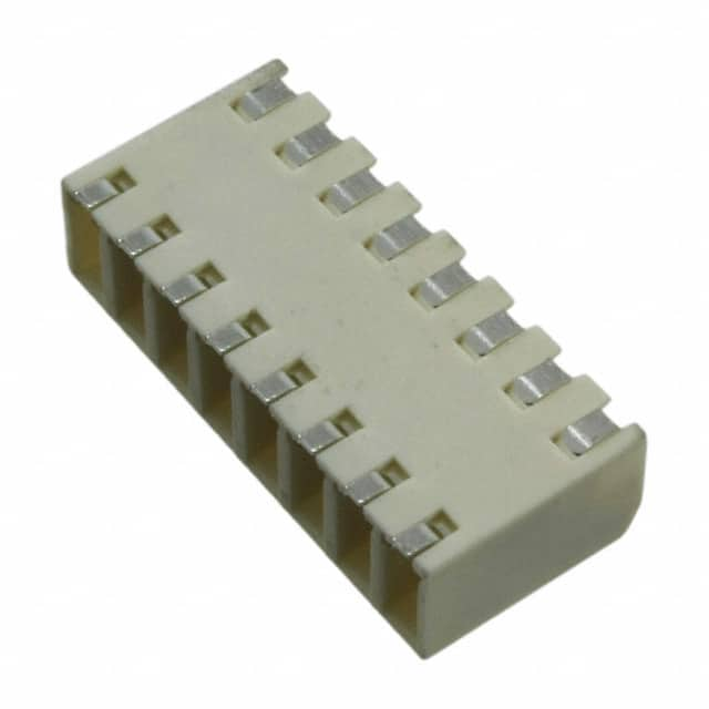【009276008021106】TERM BLK 8POS SIDE ENT 2.5MM SMD