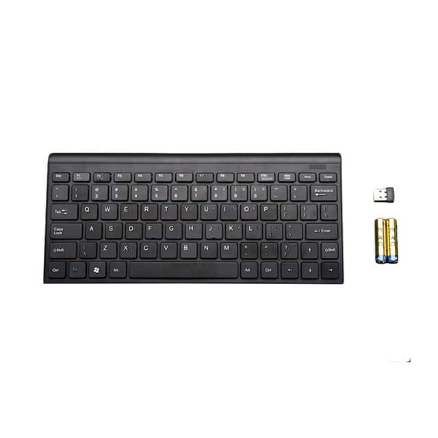 【1737】KEYBOARD MINI WIRELESS BATT BK