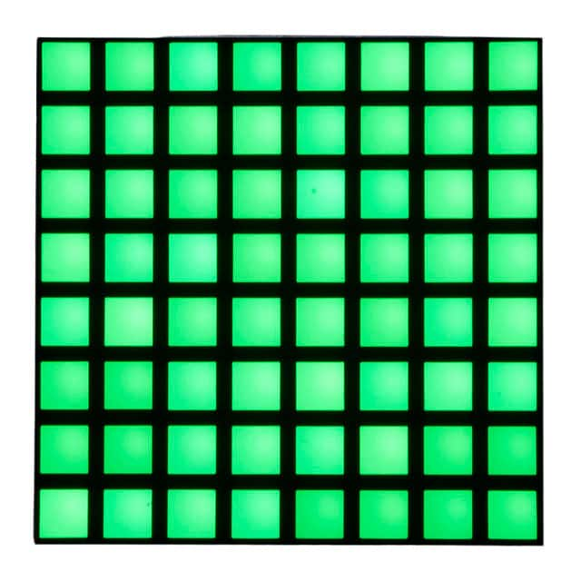LED MATRIX 8X8 SQUARE GREEN【1820】