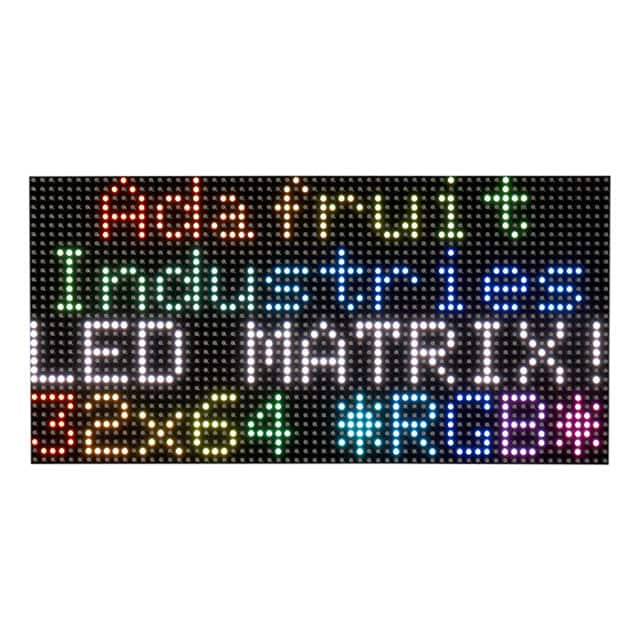 【2277】64X32 RGB LED MATRIX - 5MM PITCH