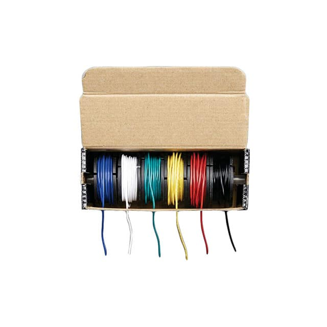 【3111】HOOK-UP 22AWG STRAND - 6 X 25FT