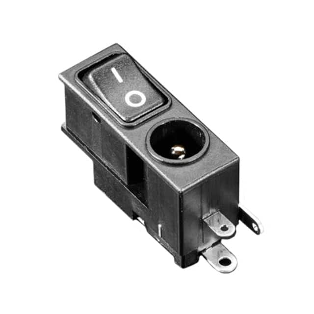 【3643】2.1MM DC POWER JACK WITH ROCKER