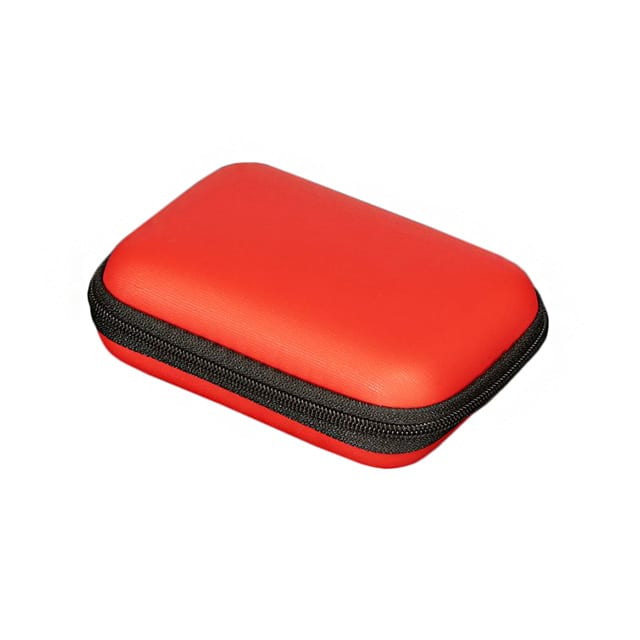"【3700】CASE PU FOAM RED 4.61""""L X 3.07""""W"