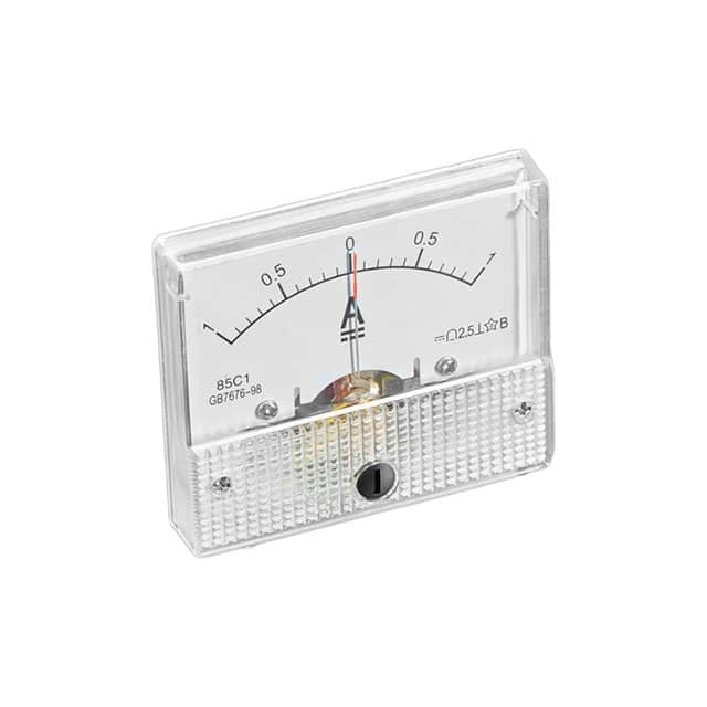 【4404】-1A TO +1A DC ANALOG PANEL METER