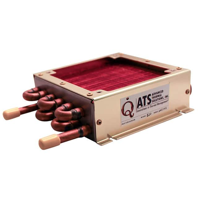 【ATS-HE20-C1-R0】HEAT EXCHANGER 5.8X5.8X1.8""""