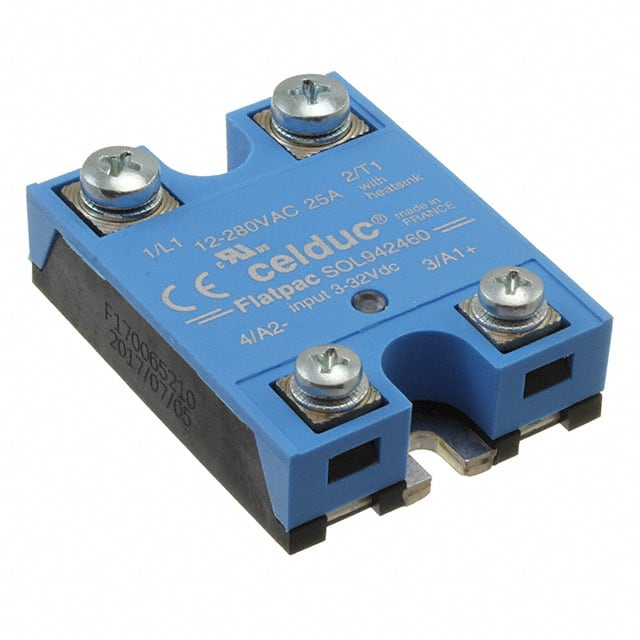 【SOL942460】POWER SOLID STATE RELAY IP00 25A