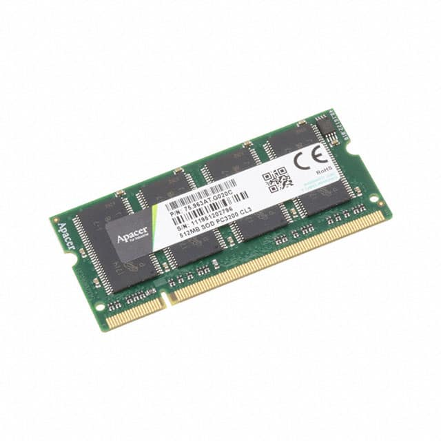 【75.963AT.G020C】512MB DDR-400 INDUS. SODIMM  64X