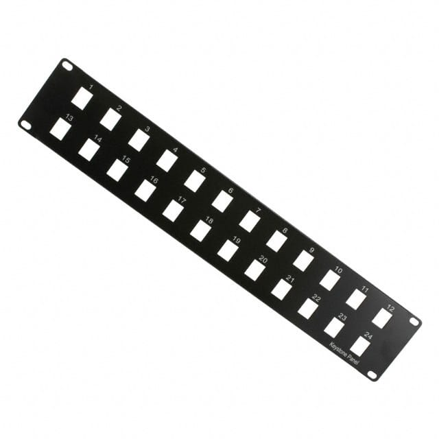 "【A-PAN-24-MOD】PATCH PANEL 19"""" 24PORT BLANK"