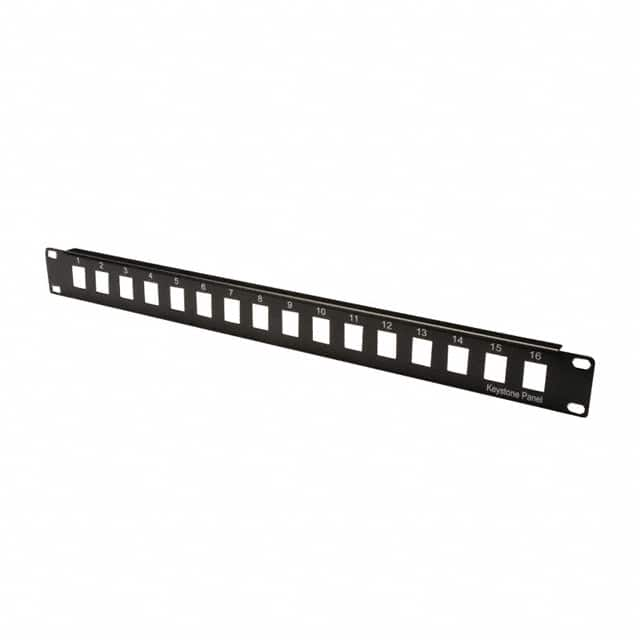 "【A-PAN-16-MOD】PATCH PANEL 19"""" 16PORT BLANK"