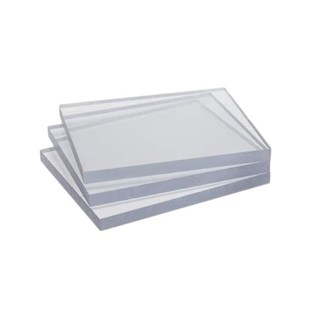 "【MT1030】POLYCARBONATE 4""""X5""""X0.375"""""