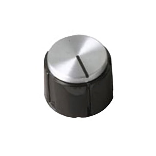 "【1200-W】KNOB SMOOTH 0.250"""" PHENOLIC"