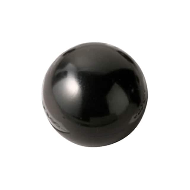 "【0025AN】KNOB SMOOTH 1/4""""-20 PLASTIC"