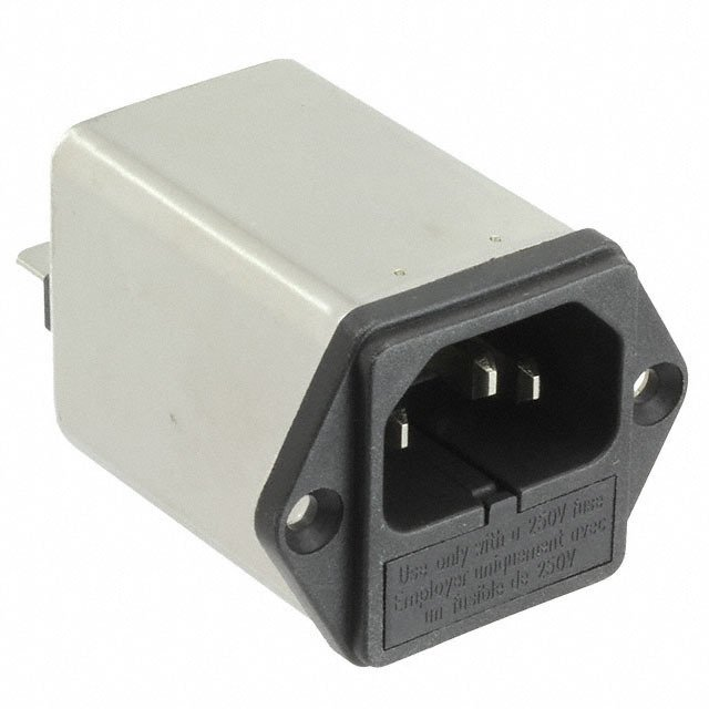Pack of 5 06GENG3E PWR ENT RCPT IEC320-C14 PANEL QC