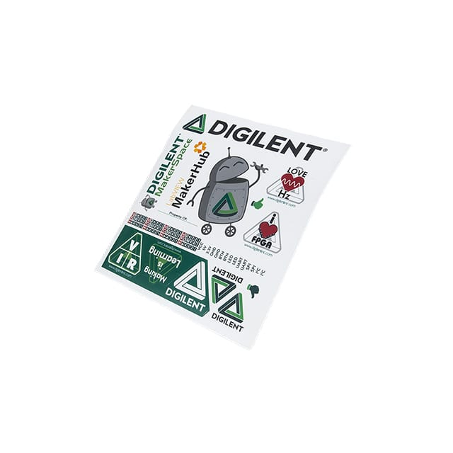 【540-021】DIGILENT STICKER SHEET