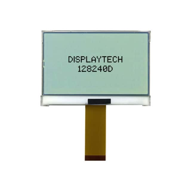 DISPLAY LCD 240X120 TRANSFL【128240D FC BW-3】