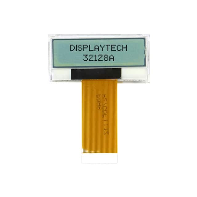 【32128A FC BW-3】DISPLAY LCD 128X32 TRANSFL